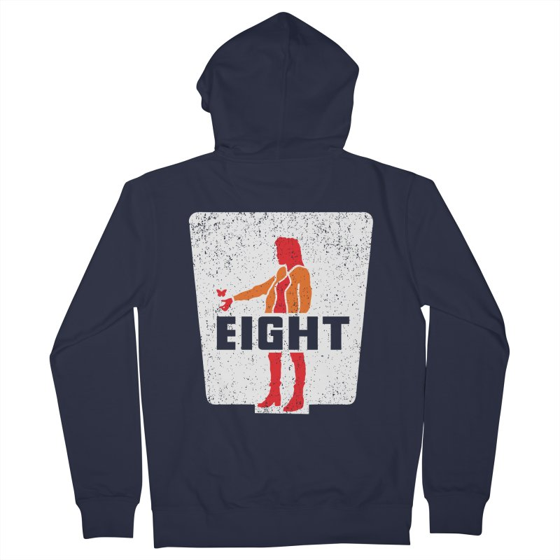 Eight Women's Zip-Up Hoody by Daletheskater