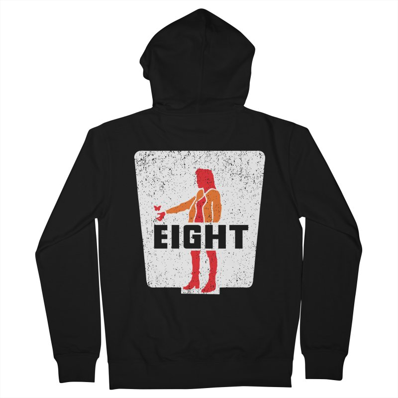 Eight Men's French Terry Zip-Up Hoody by Daletheskater