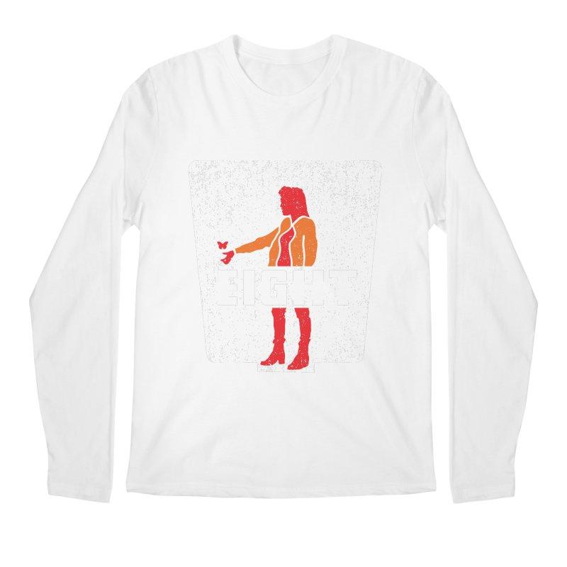 Eight Men's Regular Longsleeve T-Shirt by Daletheskater