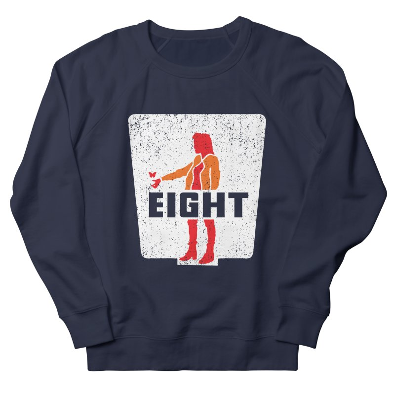 Eight Men's French Terry Sweatshirt by Daletheskater
