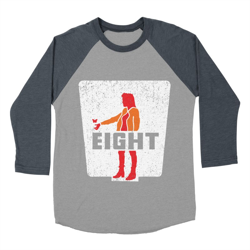 Eight Women's Baseball Triblend T-Shirt by Daletheskater