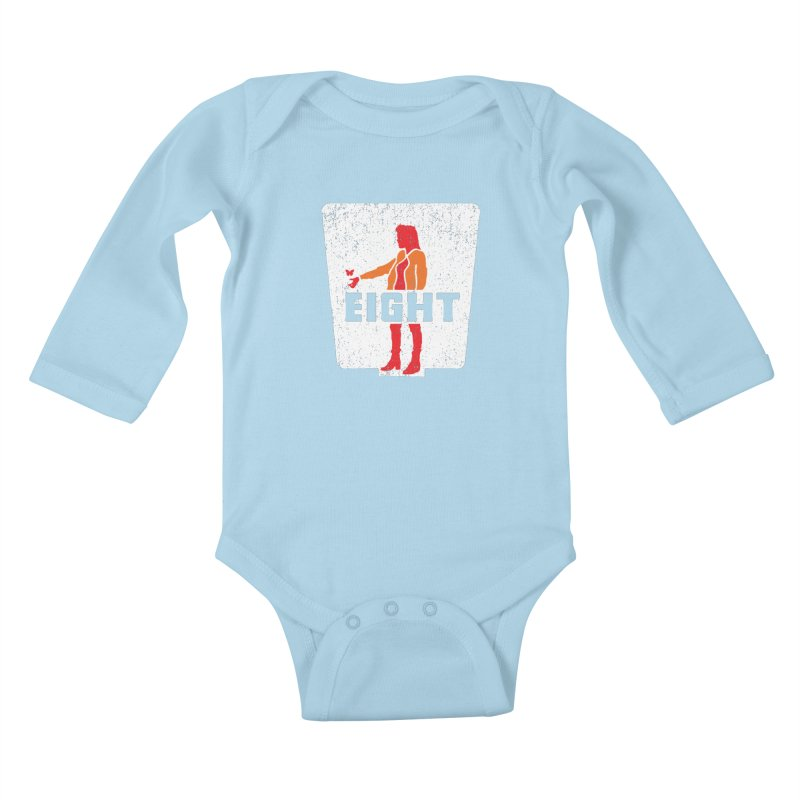 Eight Kids Baby Longsleeve Bodysuit by Daletheskater