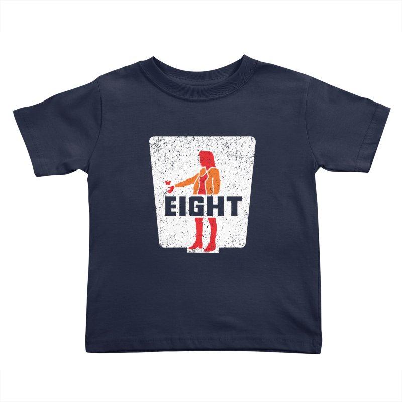 Eight Kids Toddler T-Shirt by Daletheskater