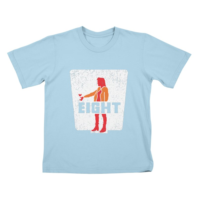 Eight Kids T-Shirt by Daletheskater