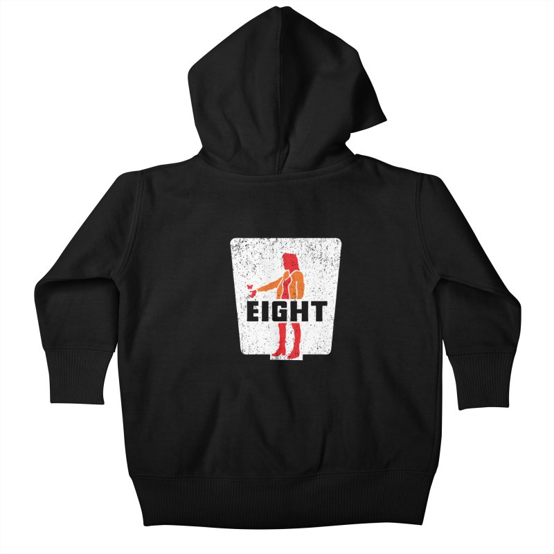 Eight Kids Baby Zip-Up Hoody by Daletheskater