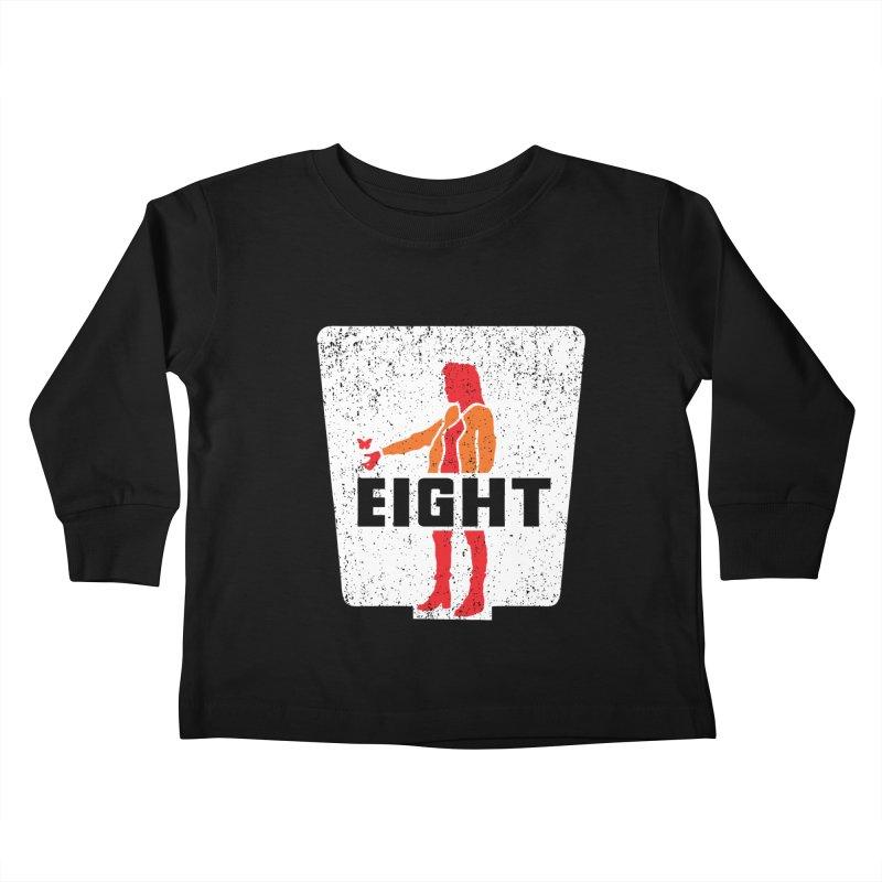 Eight Kids Toddler Longsleeve T-Shirt by Daletheskater