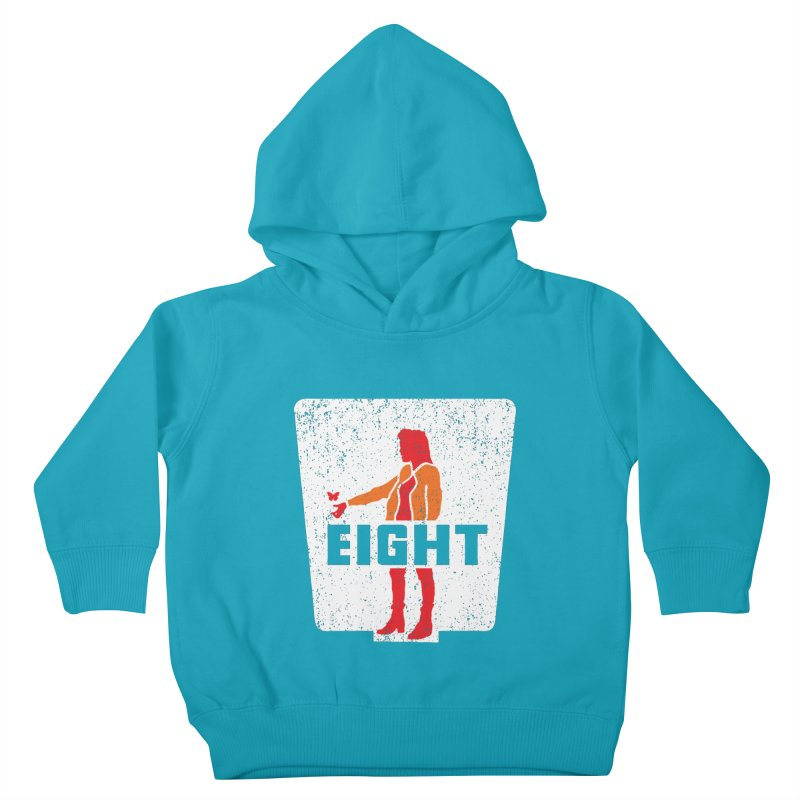 Eight Kids Toddler Pullover Hoody by Daletheskater