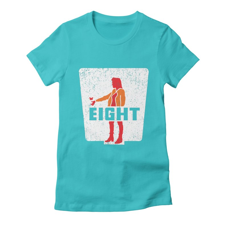 Eight Women's Fitted T-Shirt by Daletheskater