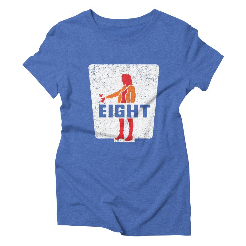 Eight Women's Triblend T-Shirt by Daletheskater