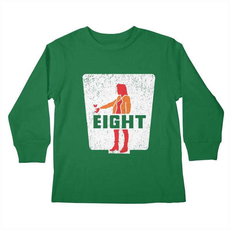 Eight Kids Longsleeve T-Shirt by Daletheskater