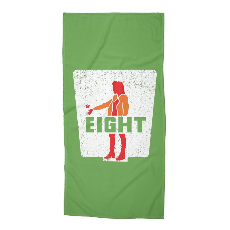 Eight Accessories Beach Towel by Daletheskater