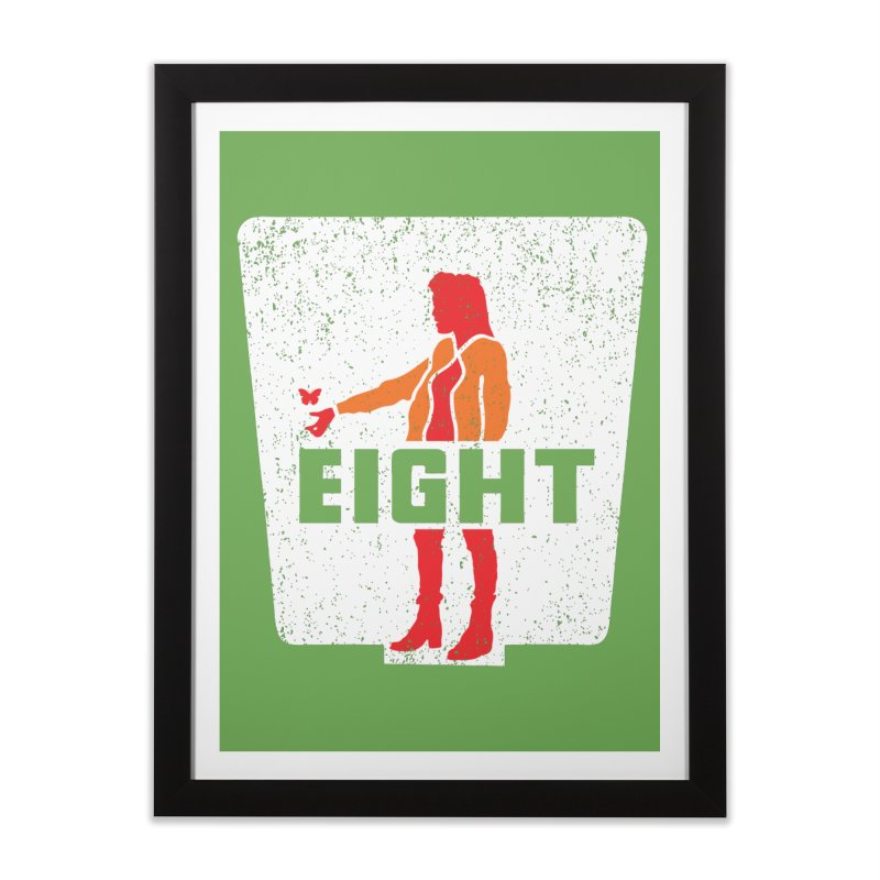 Eight Home Framed Fine Art Print by Daletheskater