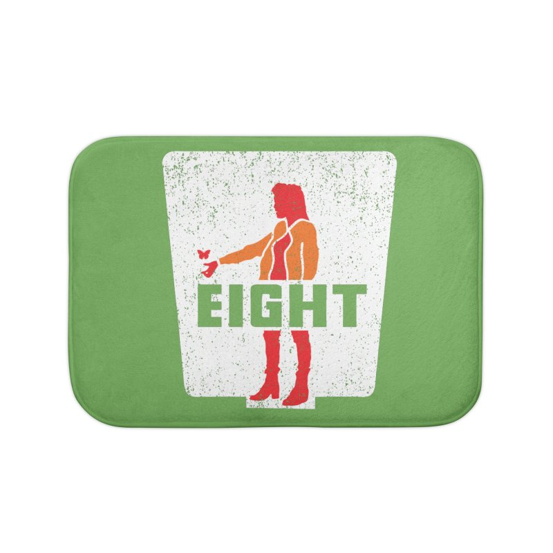 Eight Home Bath Mat by Daletheskater