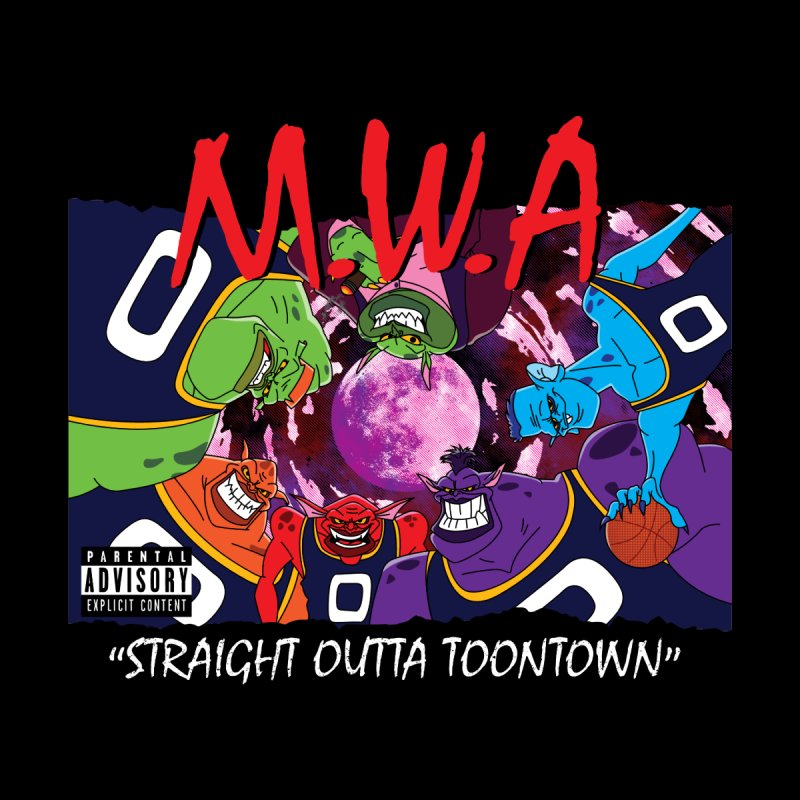Straight Outta Toontown Accessories Zip Pouch by Daletheskater
