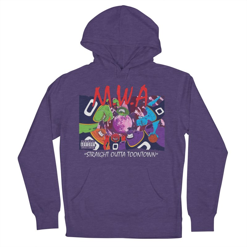 Straight Outta Toontown Women's French Terry Pullover Hoody by Daletheskater