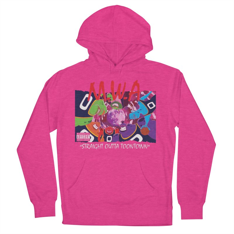 Straight Outta Toontown Men's French Terry Pullover Hoody by Daletheskater