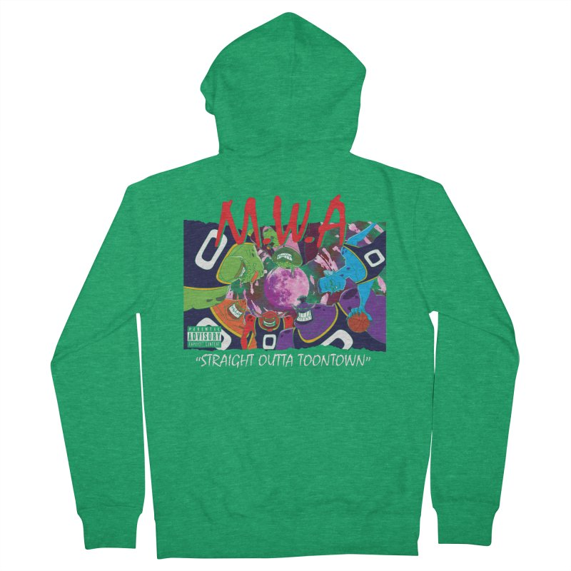 Straight Outta Toontown Men's Zip-Up Hoody by Daletheskater