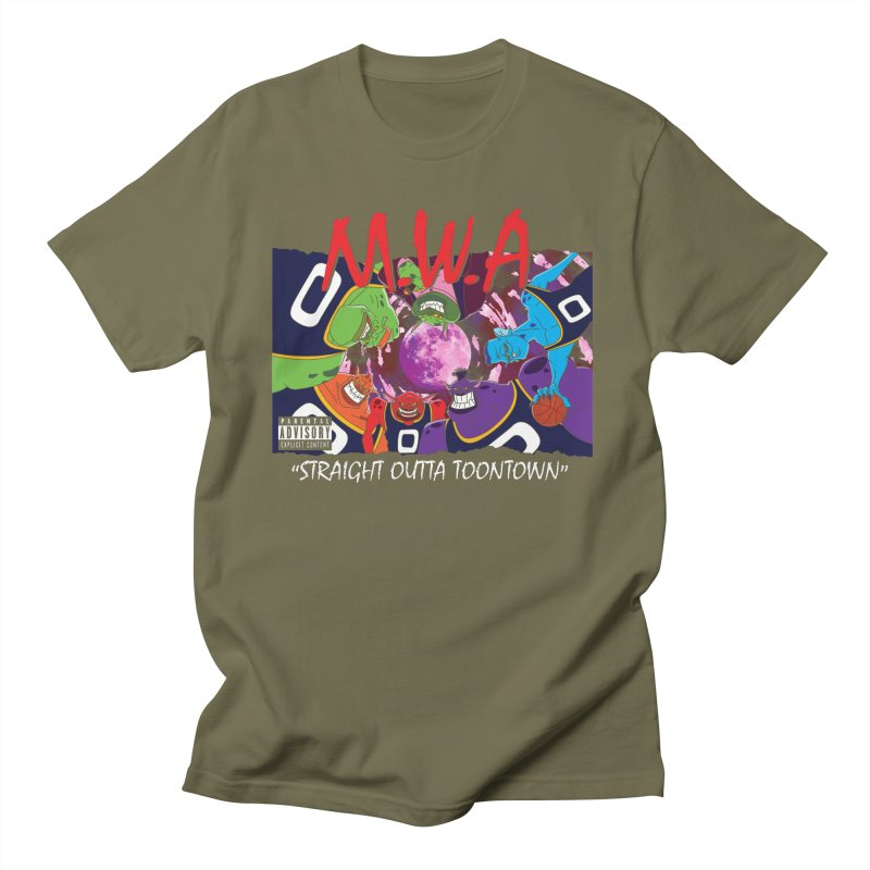 Straight Outta Toontown Men's T-Shirt by Daletheskater