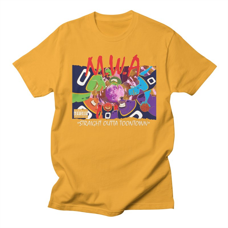 Straight Outta Toontown Women's Regular Unisex T-Shirt by Daletheskater
