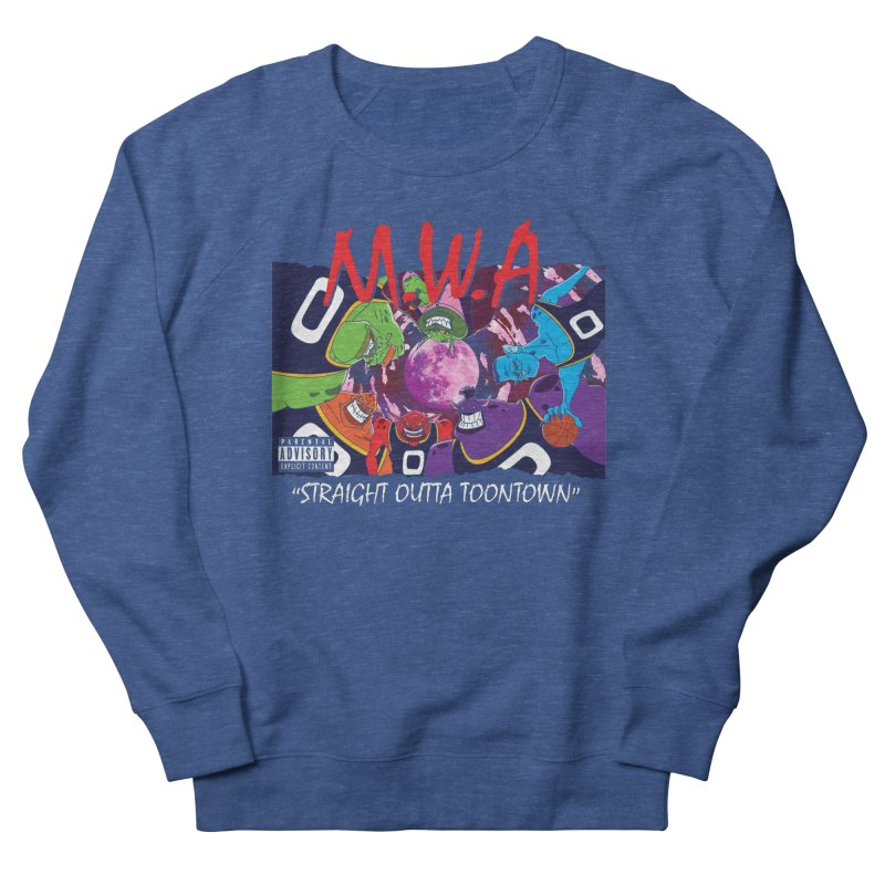 Straight Outta Toontown Women's Sweatshirt by Daletheskater