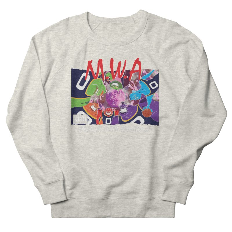 Straight Outta Toontown Women's French Terry Sweatshirt by Daletheskater