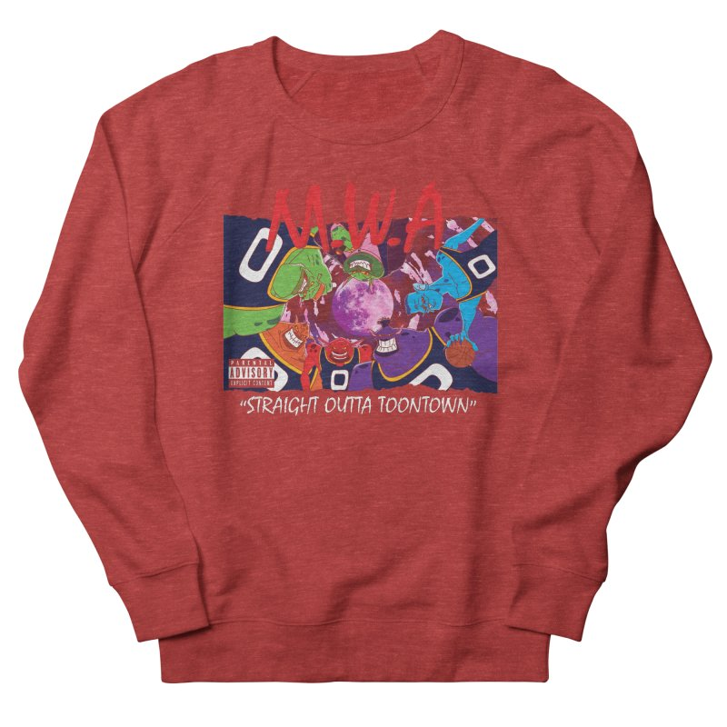 Straight Outta Toontown Men's Sweatshirt by Daletheskater