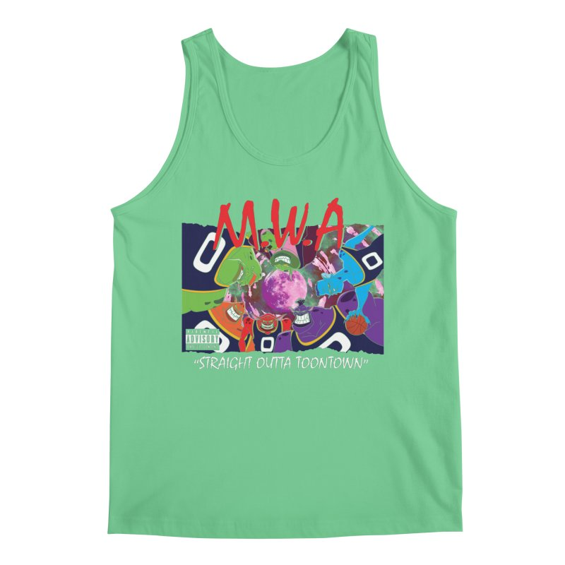 Straight Outta Toontown Men's Tank by Daletheskater