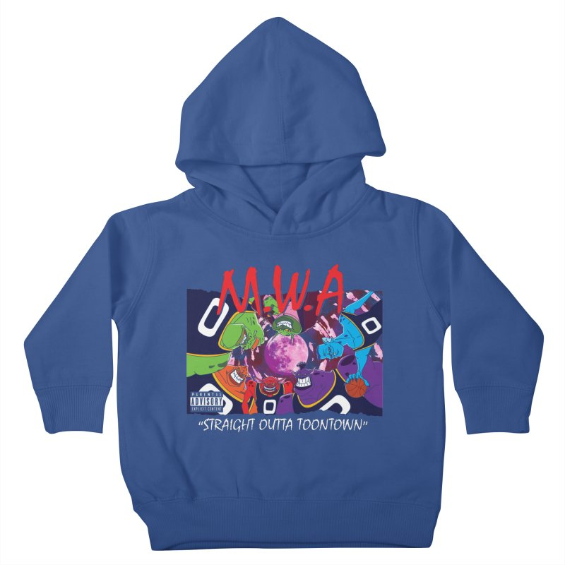 Straight Outta Toontown Kids Toddler Pullover Hoody by Daletheskater