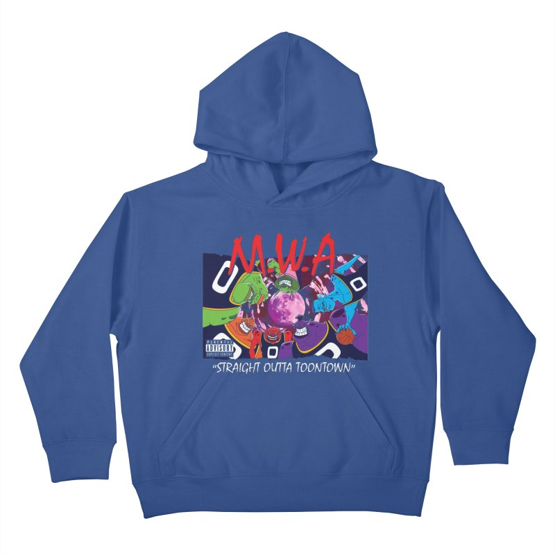 Straight Outta Toontown Kids Pullover Hoody by Daletheskater