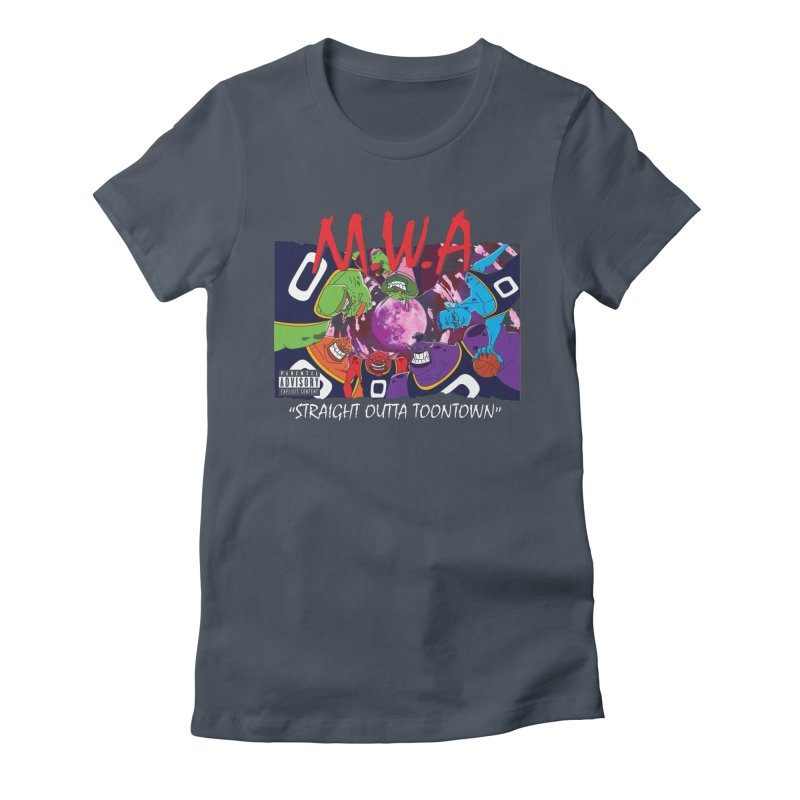 Straight Outta Toontown Women's T-Shirt by Daletheskater