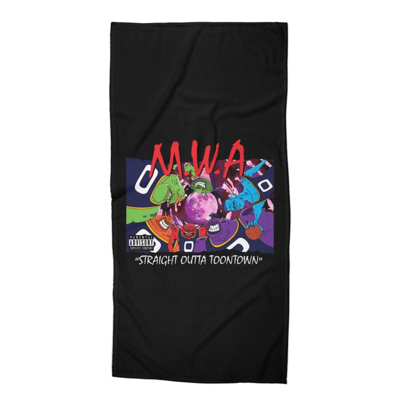 Straight Outta Toontown Accessories Beach Towel by Daletheskater