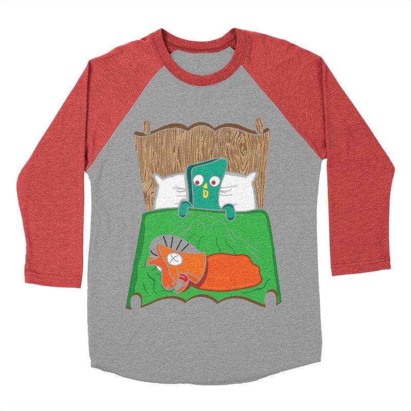 Revenge Women's Baseball Triblend Longsleeve T-Shirt by Daletheskater