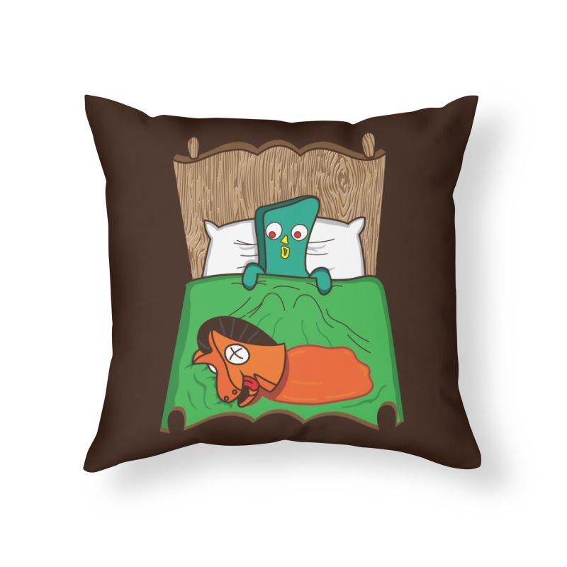 Revenge Home Throw Pillow by Daletheskater