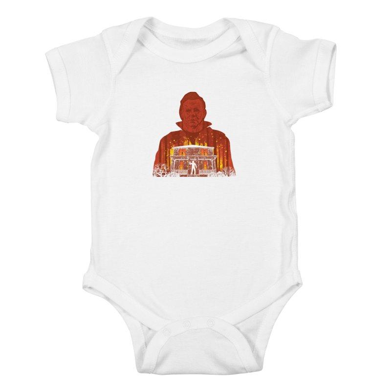 Murderous Revenge Kids Baby Bodysuit by Daletheskater