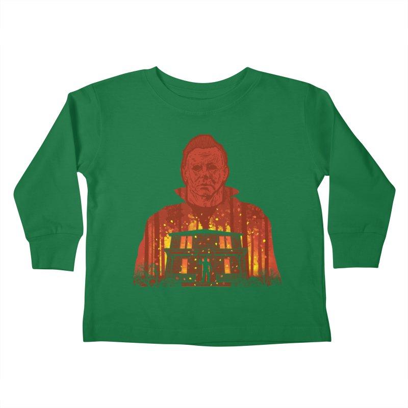Murderous Revenge Kids Toddler Longsleeve T-Shirt by Daletheskater