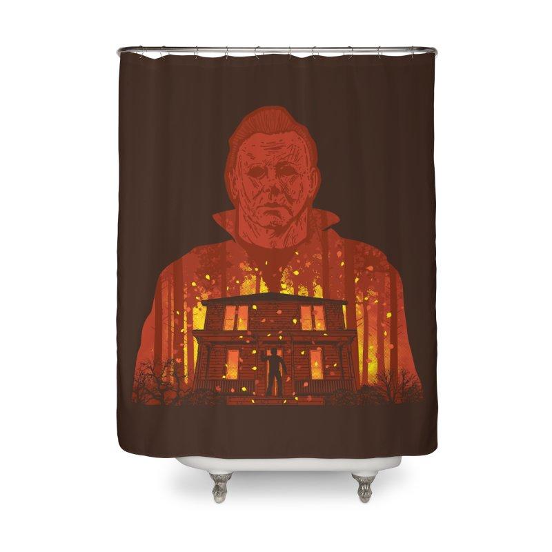 Murderous Revenge Home Shower Curtain by Daletheskater