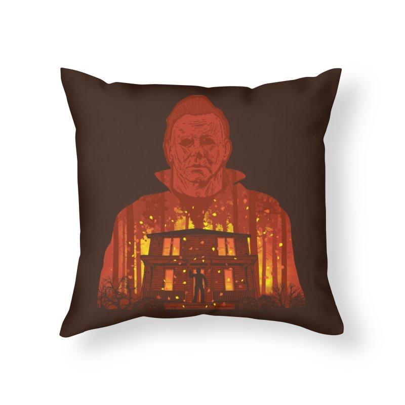 Murderous Revenge Home Throw Pillow by Daletheskater