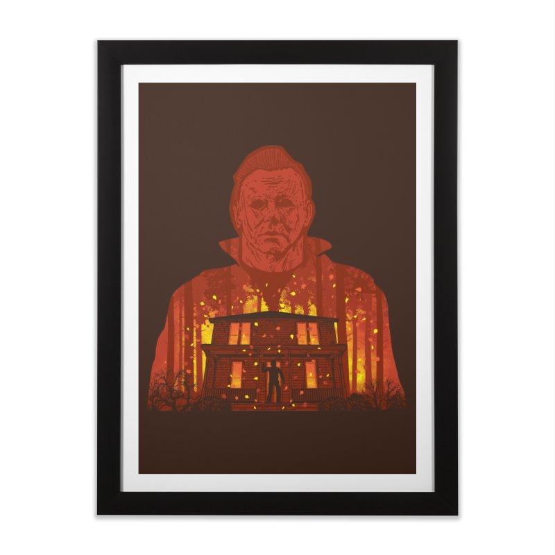 Murderous Revenge Home Framed Fine Art Print by Daletheskater