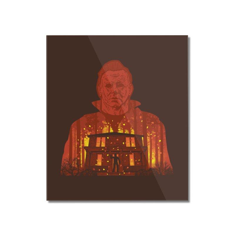 Murderous Revenge Home Mounted Acrylic Print by Daletheskater