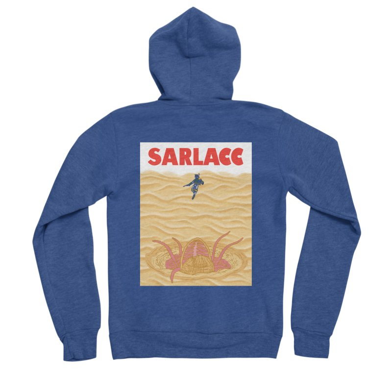 Sarlacc Men's Sponge Fleece Zip-Up Hoody by Daletheskater