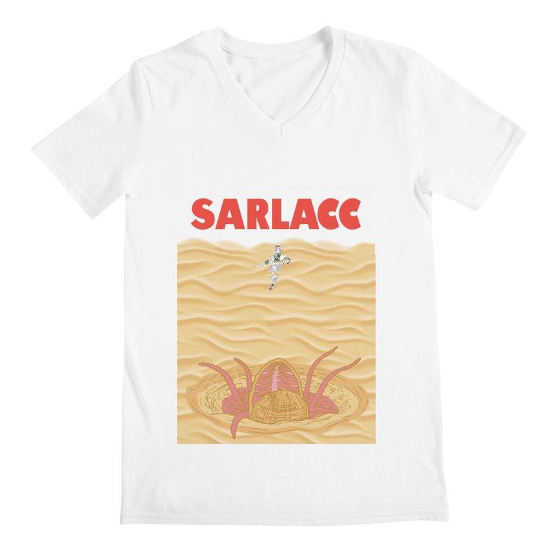Sarlacc Men's Regular V-Neck by Daletheskater