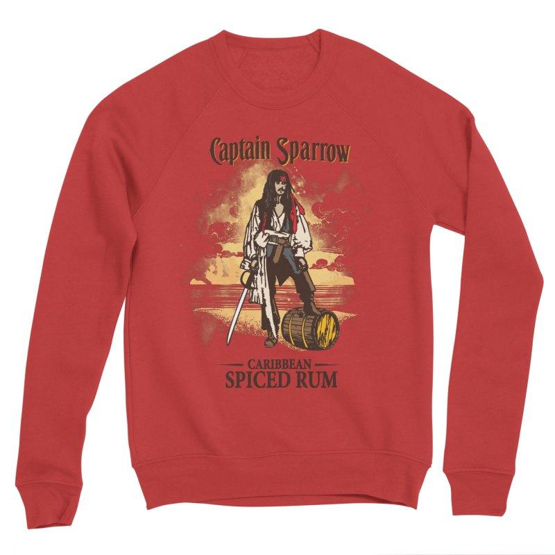 Captain Sparrow Men's Sponge Fleece Sweatshirt by Daletheskater