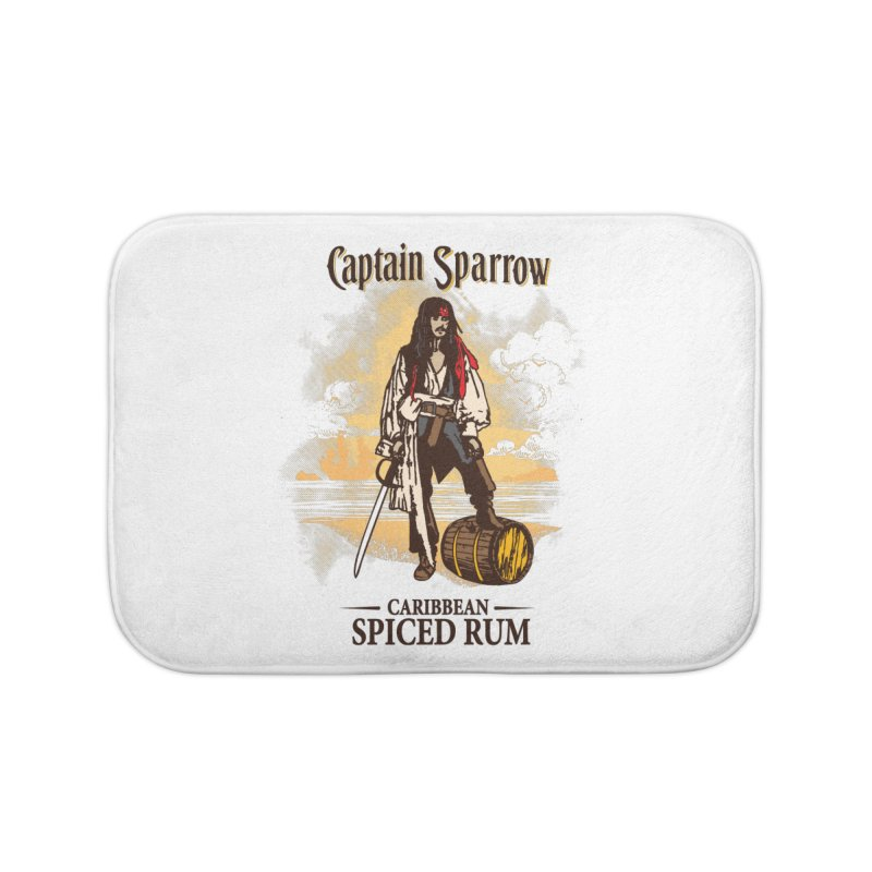 Captain Sparrow Home Bath Mat by Daletheskater