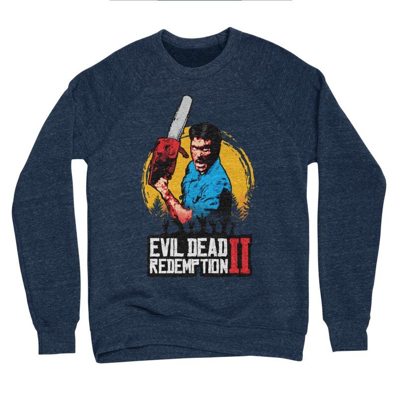 Evil Dead Redemption Men's Sponge Fleece Sweatshirt by Daletheskater