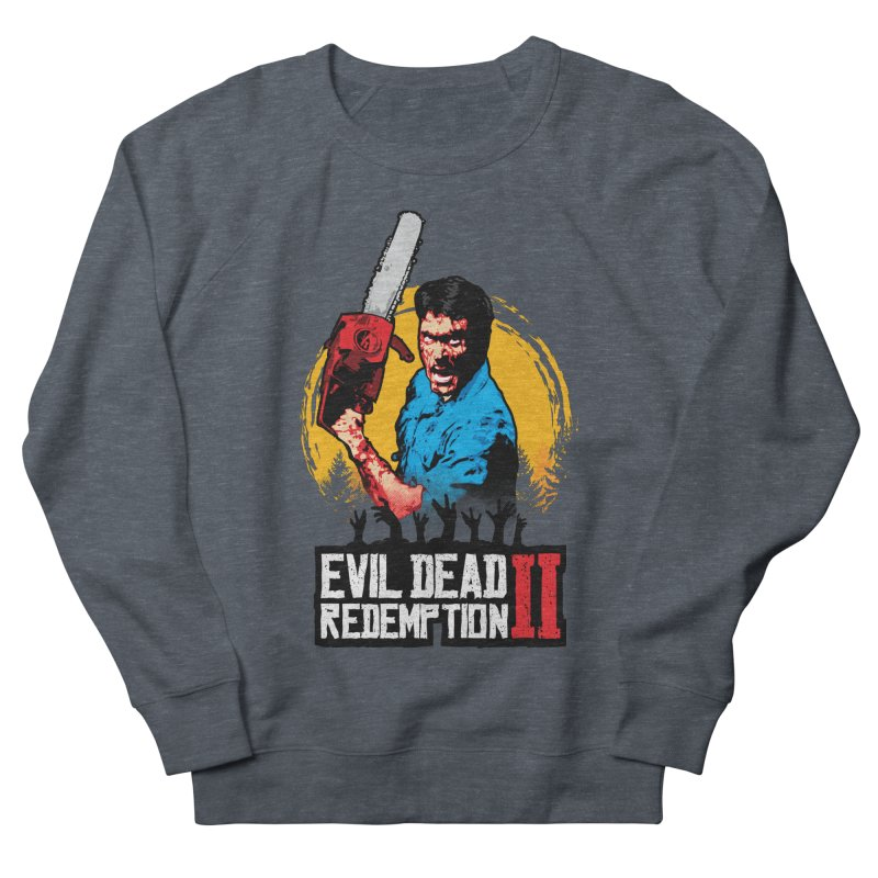 Evil Dead Redemption Men's French Terry Sweatshirt by Daletheskater