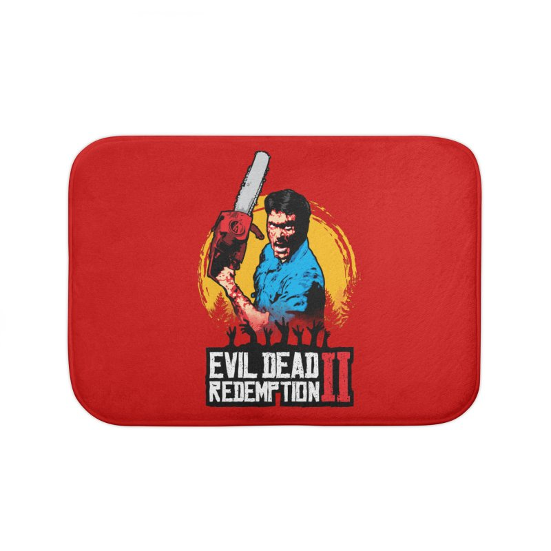 Evil Dead Redemption Home Bath Mat by Daletheskater