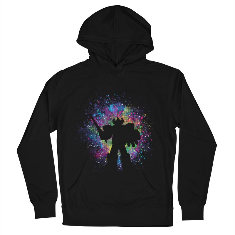 Dino Megazord Women's French Terry Pullover Hoody by Daletheskater