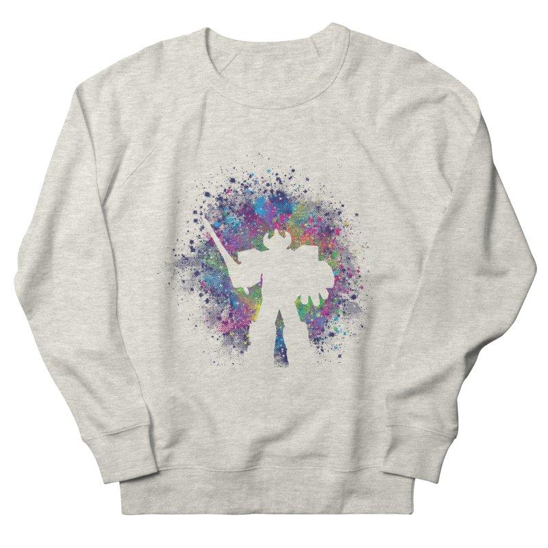 Dino Megazord Women's French Terry Sweatshirt by Daletheskater