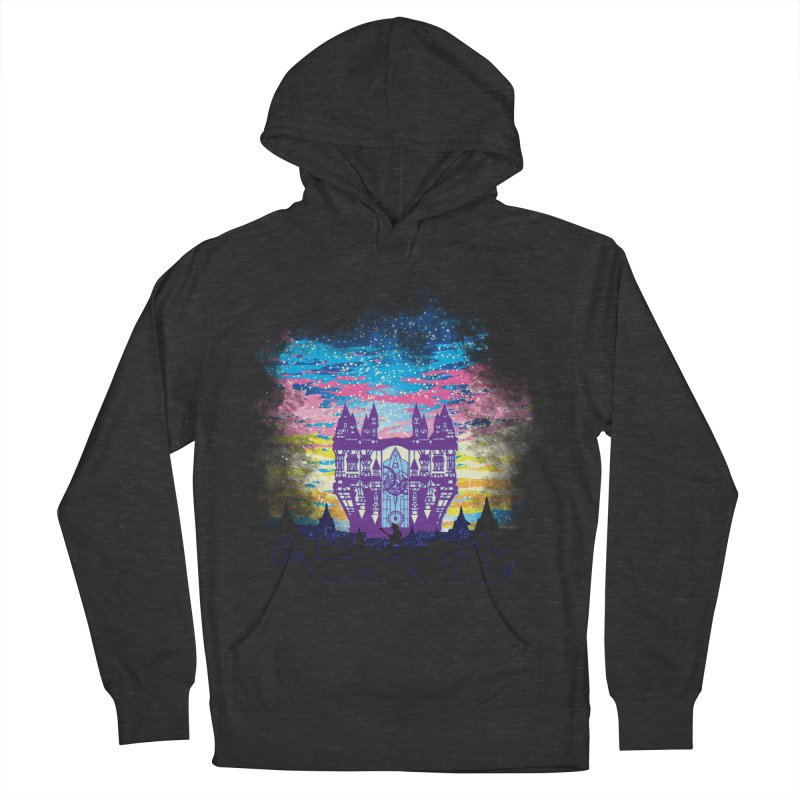 Daybreak Town Women's French Terry Pullover Hoody by Daletheskater