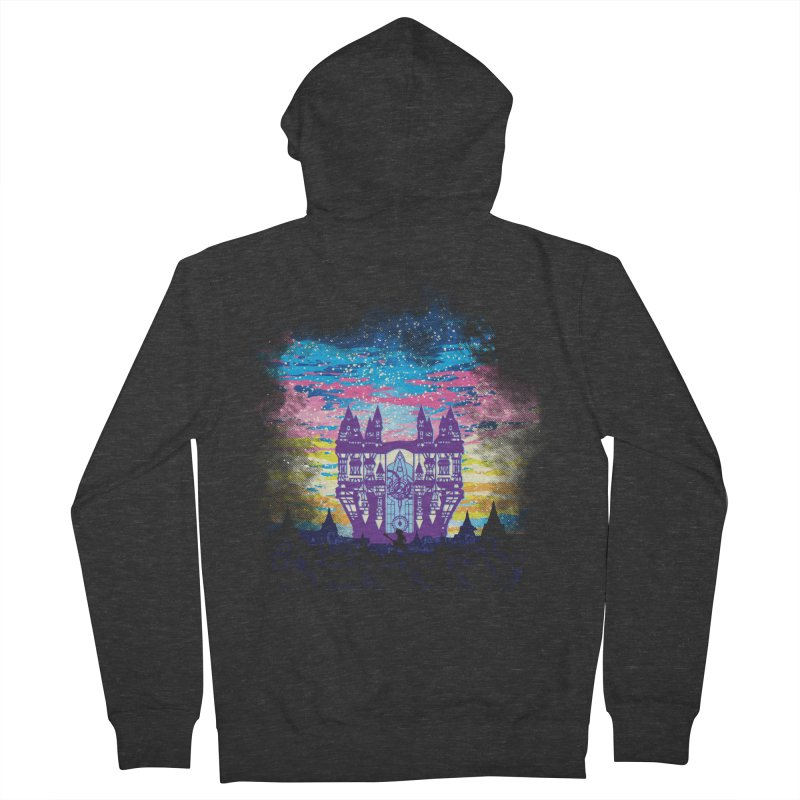 Daybreak Town Men's French Terry Zip-Up Hoody by Daletheskater